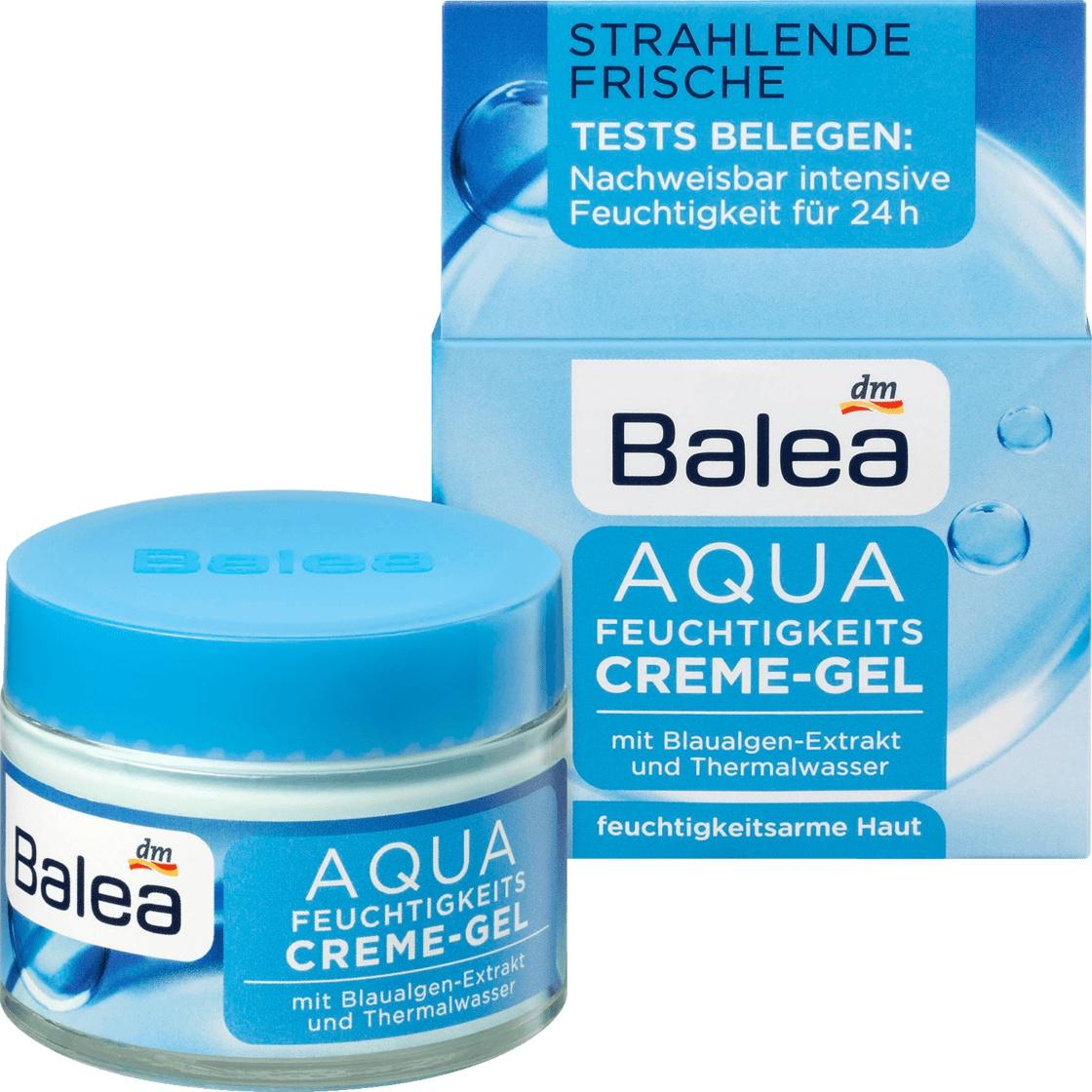 Balea Aqua Feuchtigkeits Creme-Gel