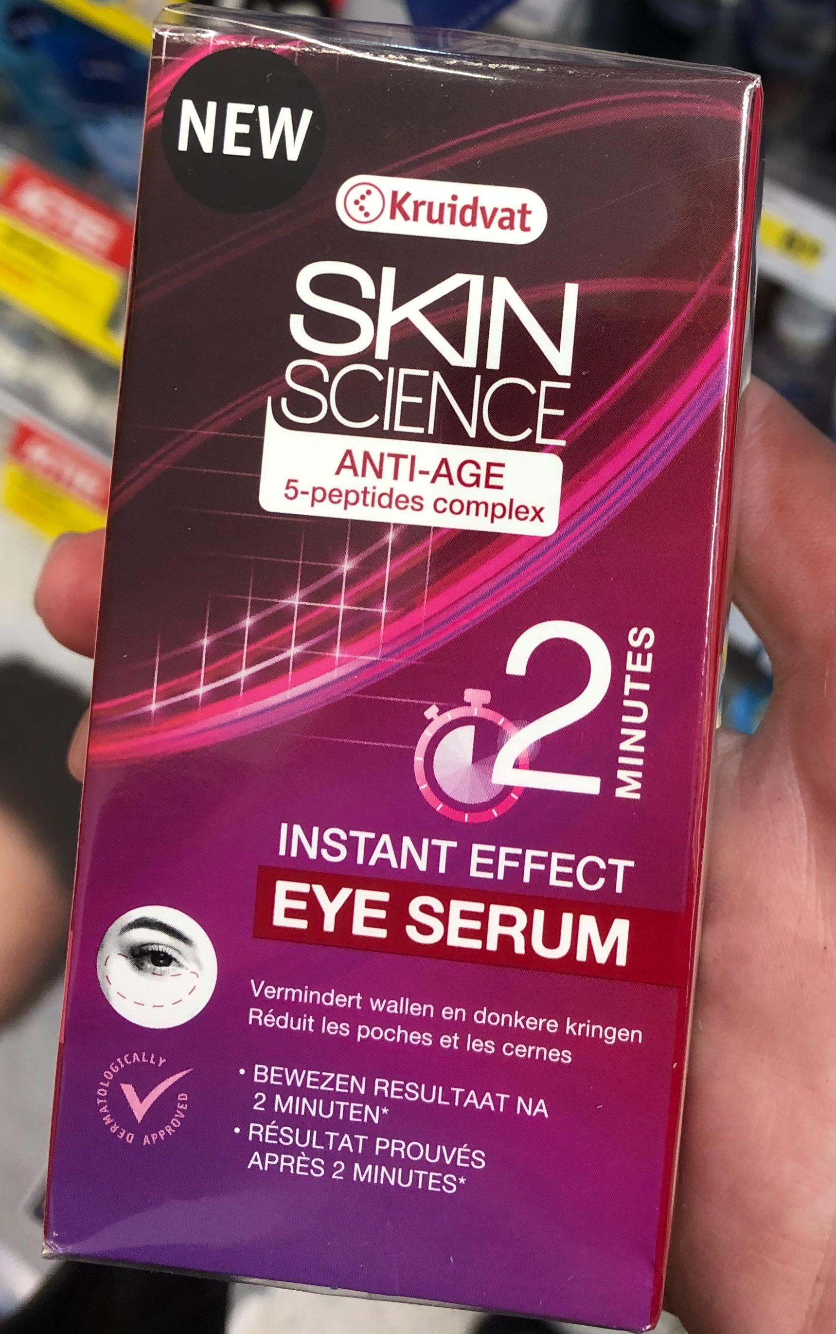 Kruidvat Skin Science Anti Age Eye Serum