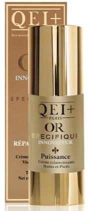 QEI+ Lightening Cream Tube Power Gold Hands & Feet