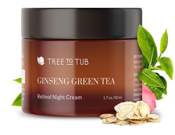 Tree to Tub Retinol Sensitive Night Cream