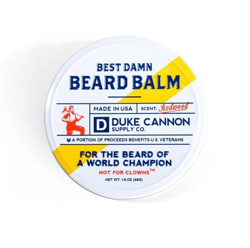 Duke Cannon Supply Co Best Redwood Damn Beard Balm