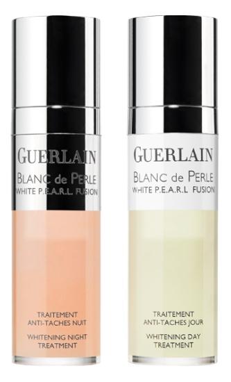 Guerlain White P.E.A.R.L. Fusion Whitening Day & Night Treatment