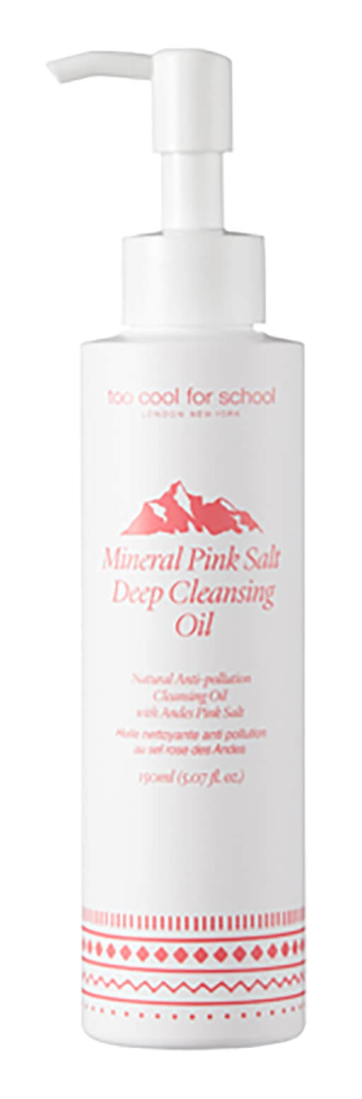 Too Cool For School Mineral Pink Salt Deep Cleansing Oil