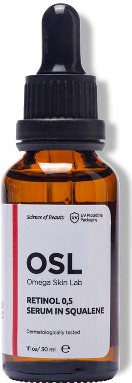 Omega Skin Lab Retinol 0,5 Serum In Squalene