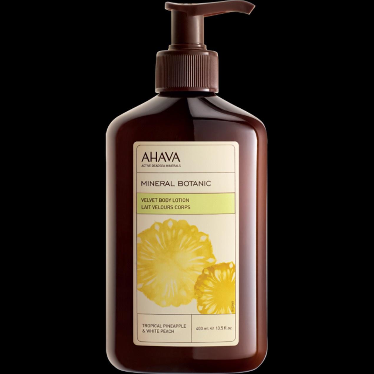 Ahava Mineral Botanic Velvet Body Lotion - Tropical Pineapple & White Peach