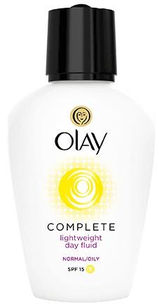 Olay Complete Lightweight 3In1 Moisturiser Day Fluid SPF15 Normal Oily