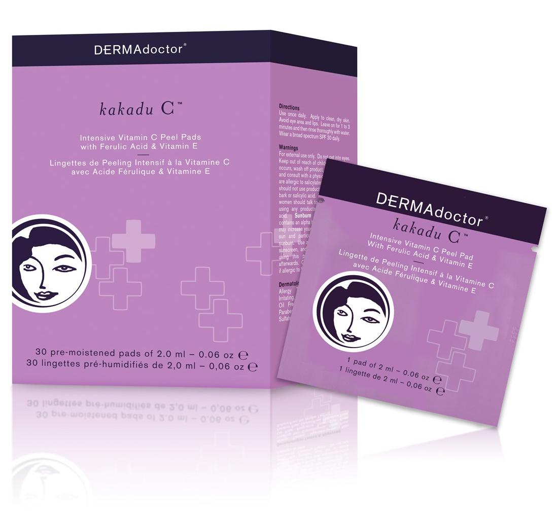 Dermadoctor Kakadu C Intensive Vitamin C Peel Pad With Ferulic Acid & Vitamin E