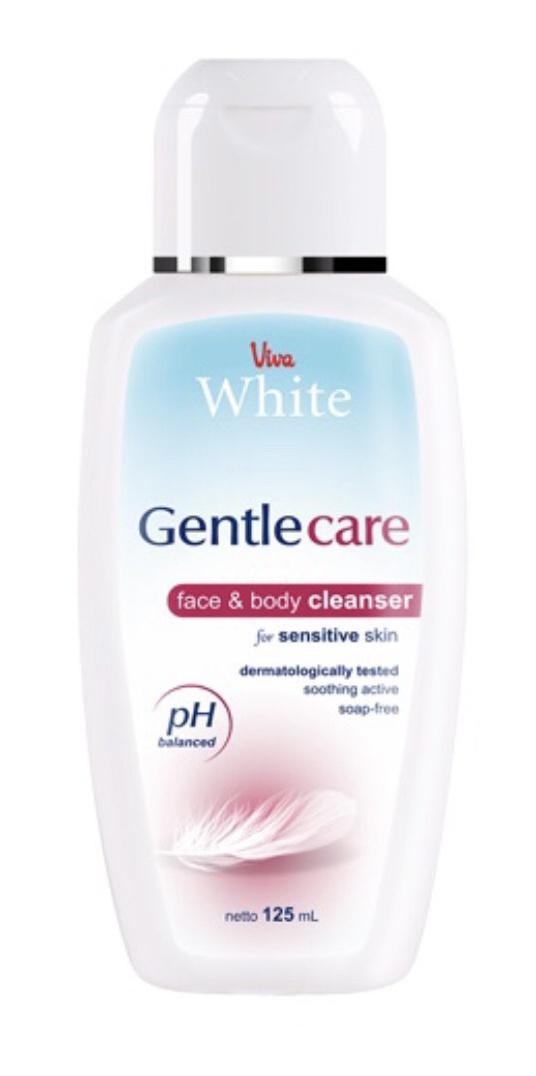 Viva Cosmetics White Gentle Care Face & Body Cleanser