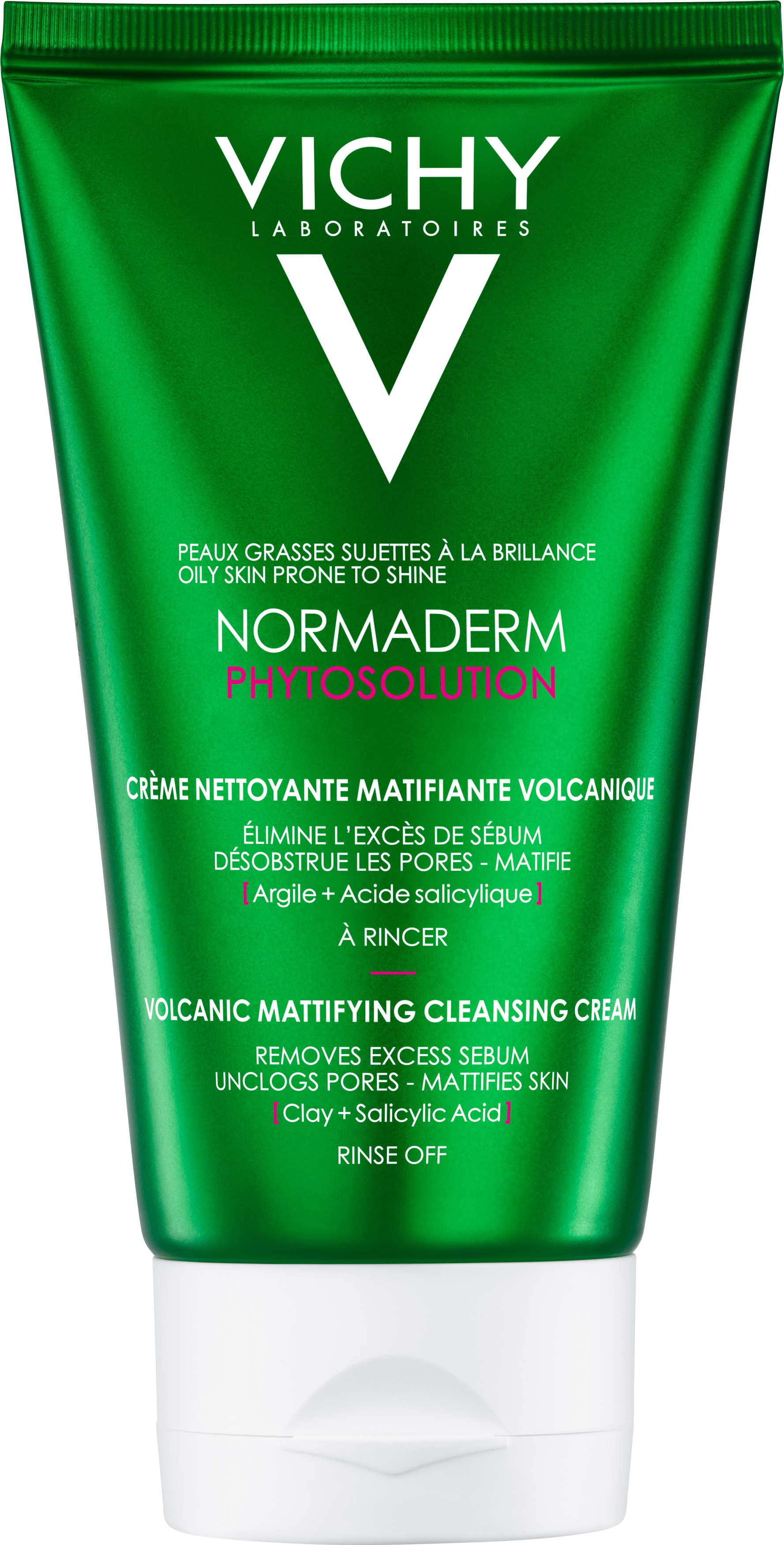 Vichy Normaderm Phytosolution Volcanic Mattifying Cleansing Cream