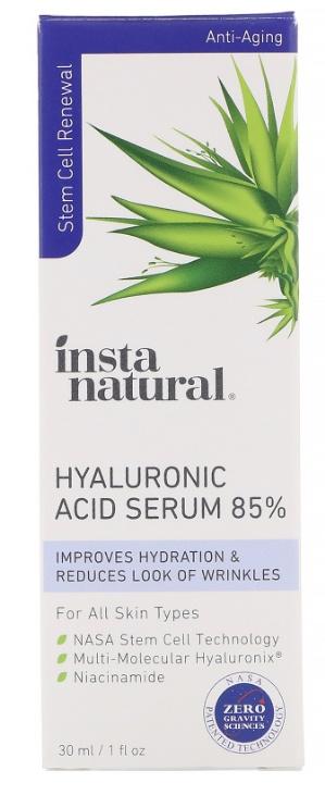 InstaNatural Hyaluronic Acid Serum 85%