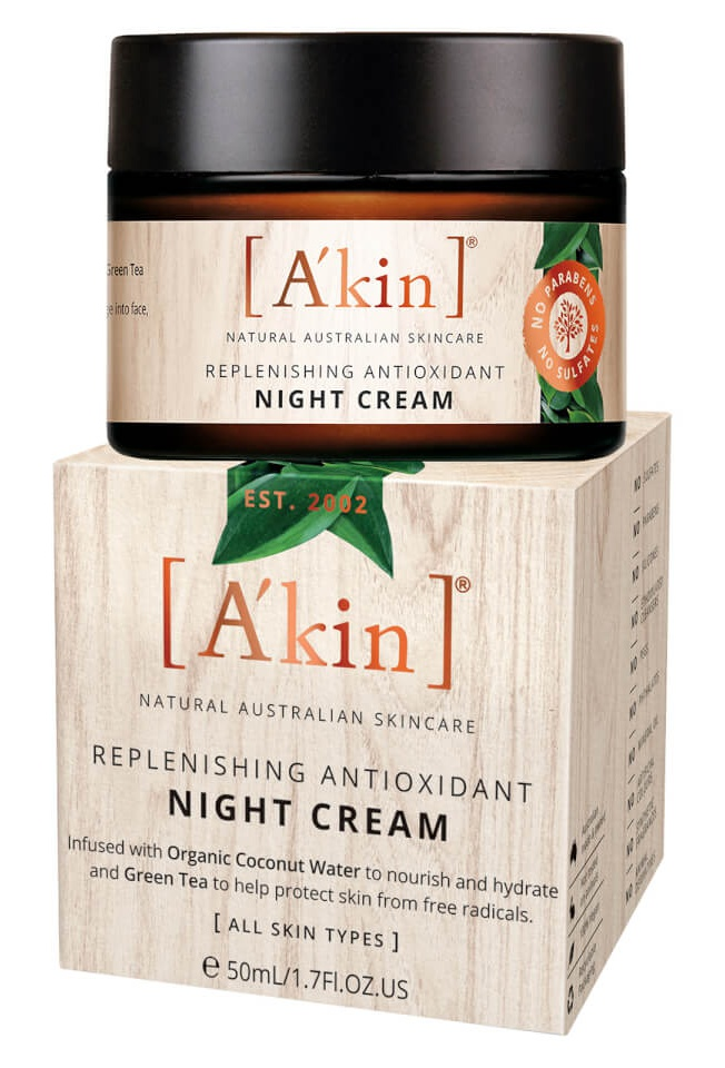 A'KIN Replenishng Antioxidant Night Cream