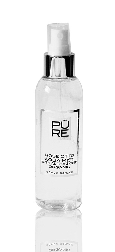 The PÜRE Collection Rose Otto Aqua Mist With Alpha 3 Cmp