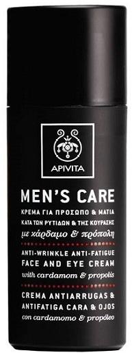 Apivita Men's Care Anti-wrinkle Anti-fatigue Face and Eye Cream
