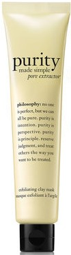 Philosophy Purity Made Simple Pore Extractor Face Mask