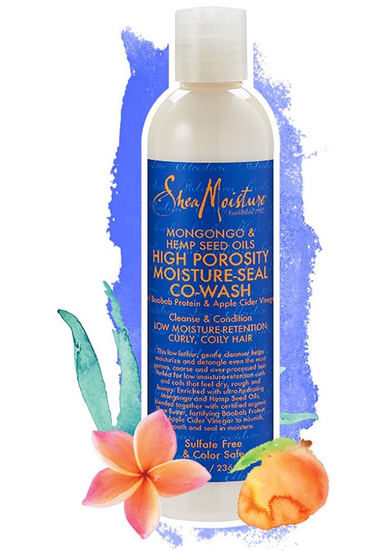 Shea Moisture Mongongo & Hemp Seed Oils High Porosity Moisture-Seal Co-Wash