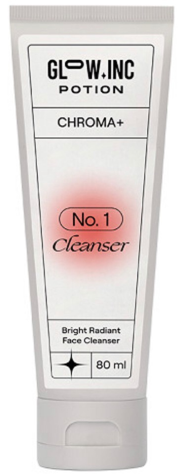 Glow.Inc Potion Chroma+ Bright Radiant Face Cleanser