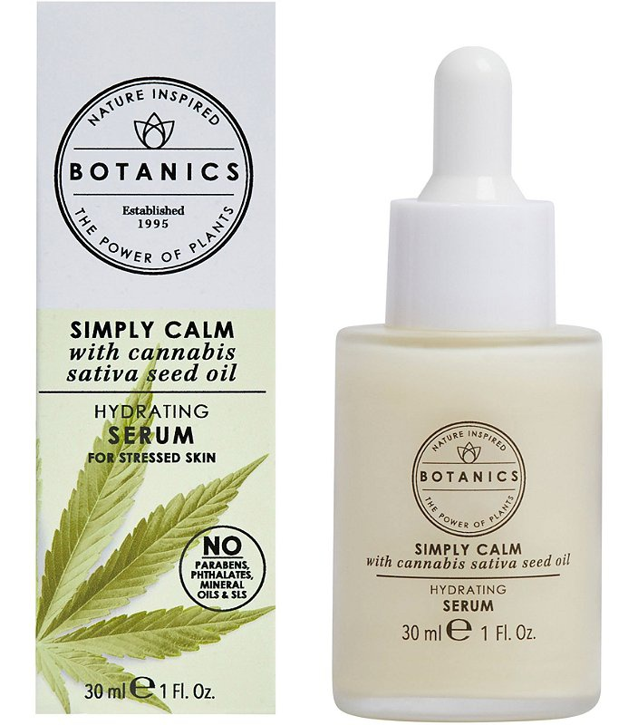 Botanics Simply Calm Hydrating Oil