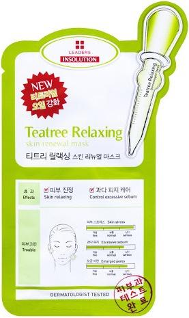 Leaders Tea Tree Relaxing Mask