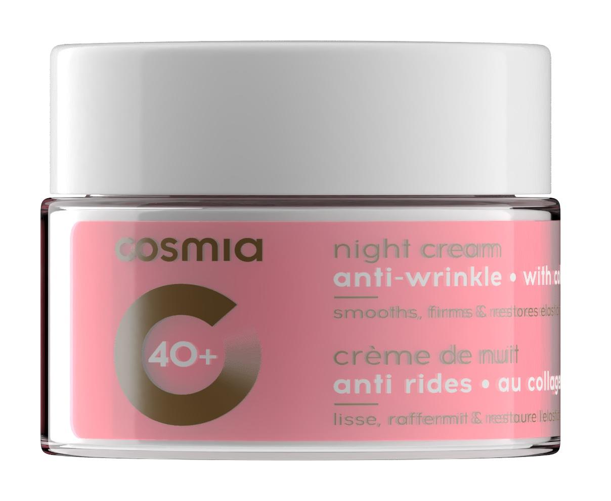 Cosmia 40+ Anti-Wrinkle Night Cream