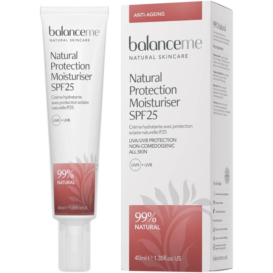 Balance Me Natural Protection Daily Moisturiser SPF25