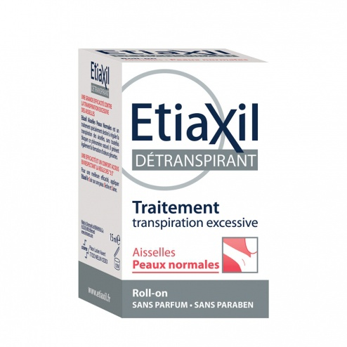 Etiaxil Excessive Sweating Treatment Anti Perspirant Roll On Normal Skins