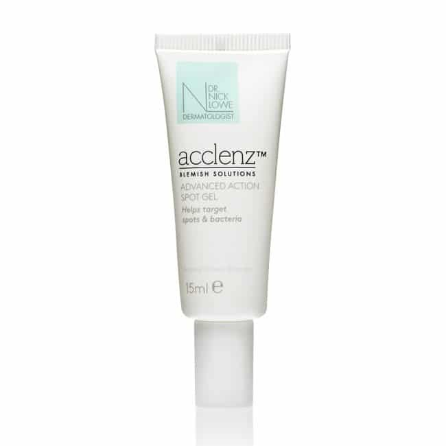 Dr Nick Lowe Acclenz Advanced Action Spot Gel