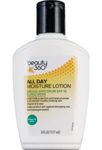 beauty 360 All Day Moisture Lotion SPF 15