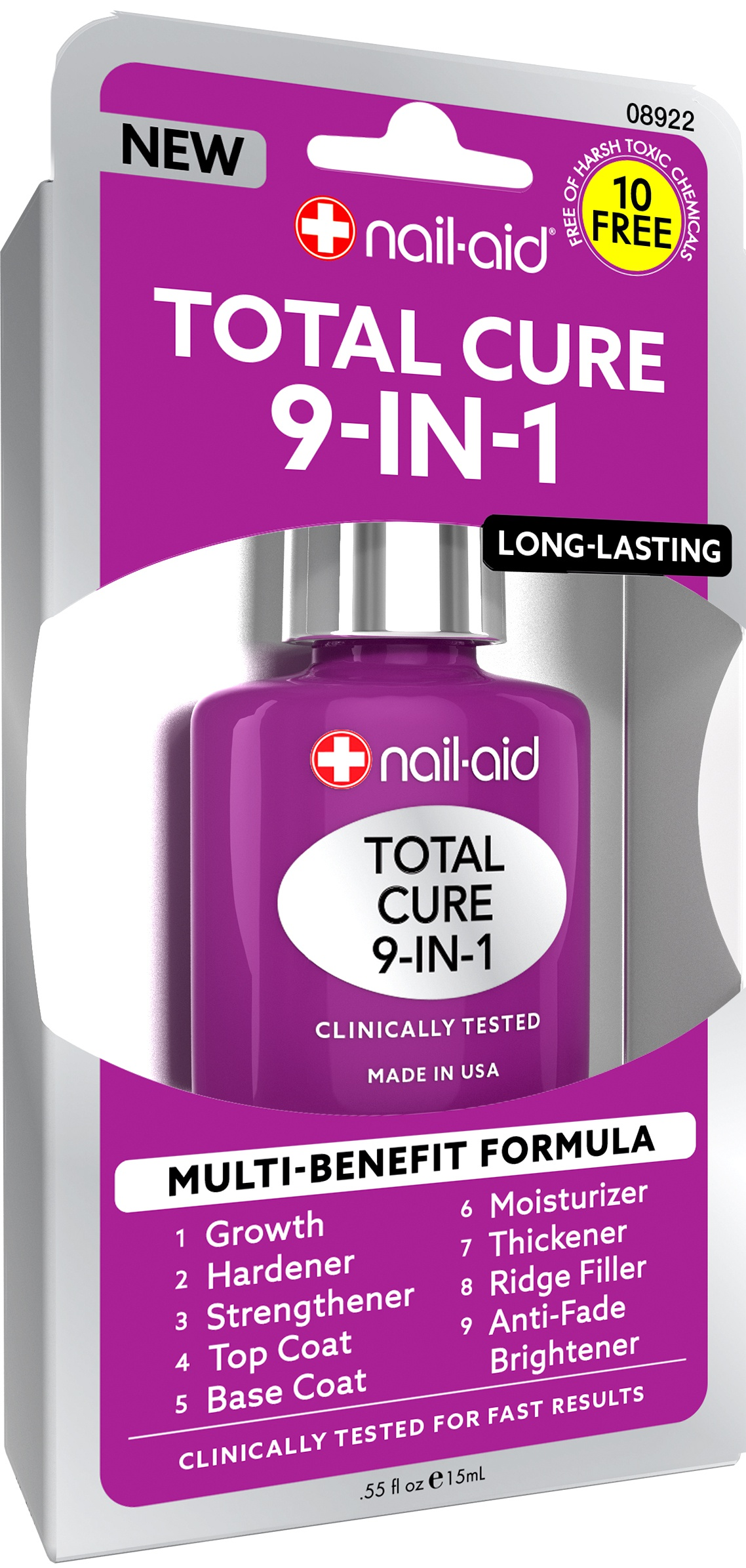 Nail Aid Total Cure 9-In-1