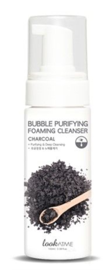 Look at me Charcoal Bubble Purifying Foaming Cleanser