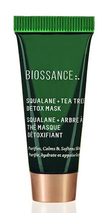 BIOSSANCE Squalane + Tea Tree Detox Mask