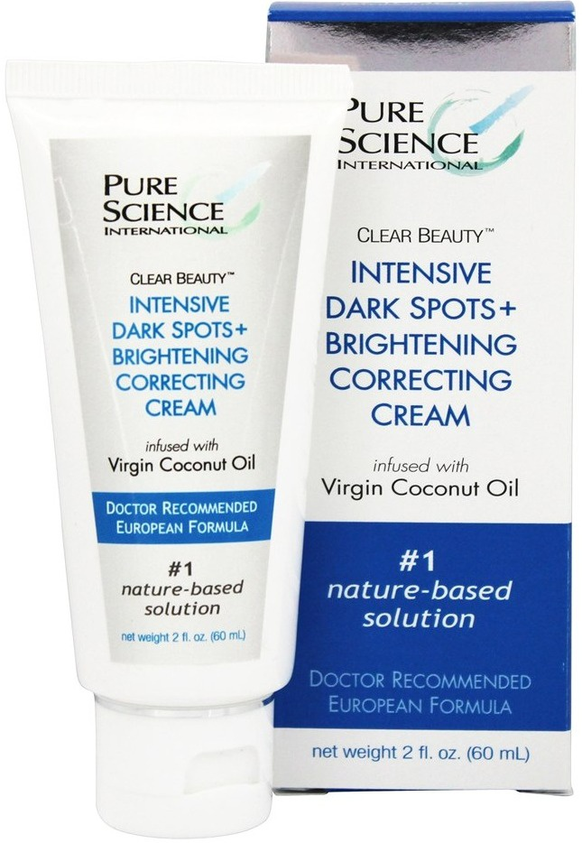 Pure Science International Clear Beauty Intensive Dark Spots + Brightening Correcting Cream