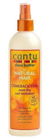 Cantu Shea Butter  Comeback Curl Next Day Curl Revitalizer