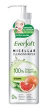 Eversoft Micellar Cleansing Water 100% Organic Grapefruit