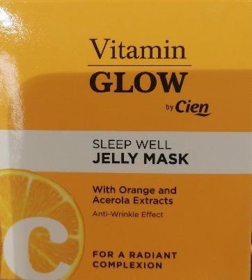 Cien Sleep Well Jelly Mask