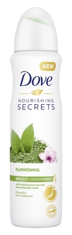 Dove Nourishing Secrets Awakening Anti-Transpirant Spray - Matcha & Sakura