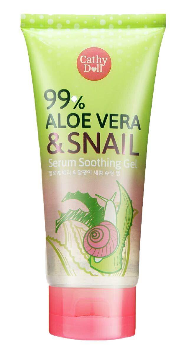 Cathy Doll 99% Aloe Vera & Snail Serum Soothing Gel