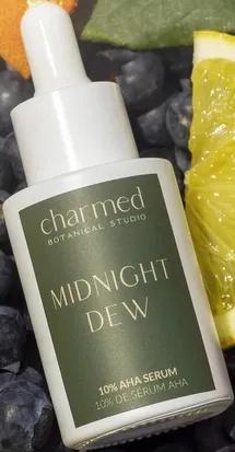 Charmed Botanical Studio Midnight Dew 10% AHA Serum