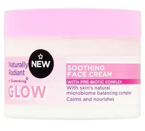 Superdrug Naturally Radiant Glow Soothing Face Cream