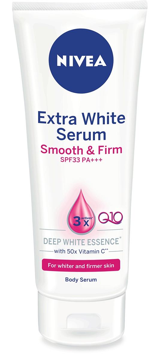 Nivea Extra White Firming Body Serum Spf33