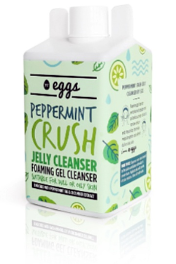 By Eggs Peppermint Crush Jelly Cleanser