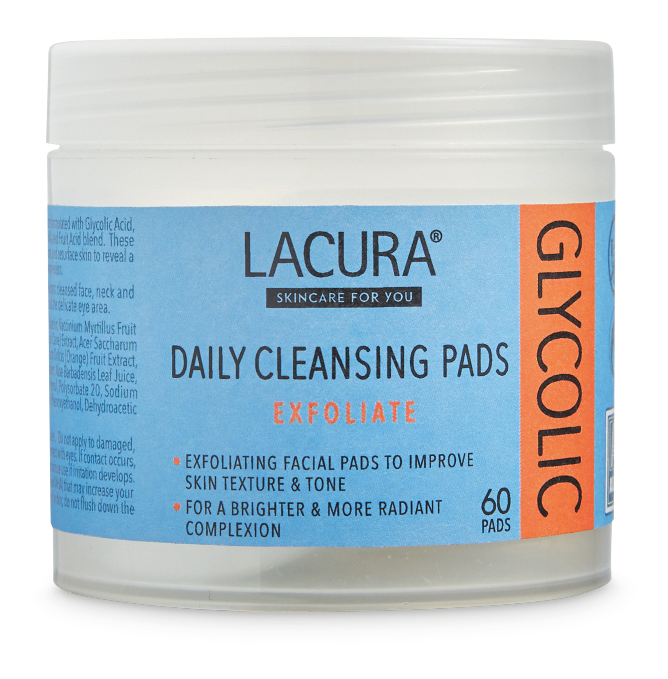 LACURA Daily Cleansing Pads