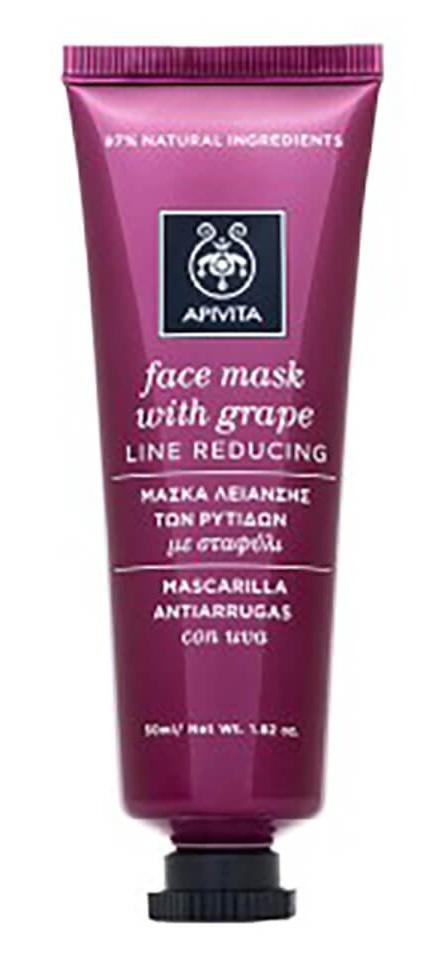 Apivita Line Reducing Face Mask With Grape