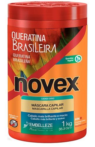 Novex Queratina Brasileira Máscara