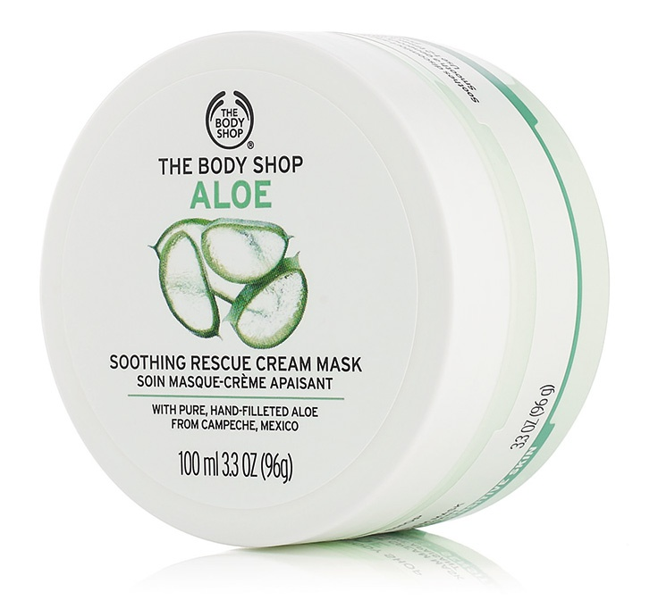 The Body Shop Aloe Soothing Rescue Cream Mask