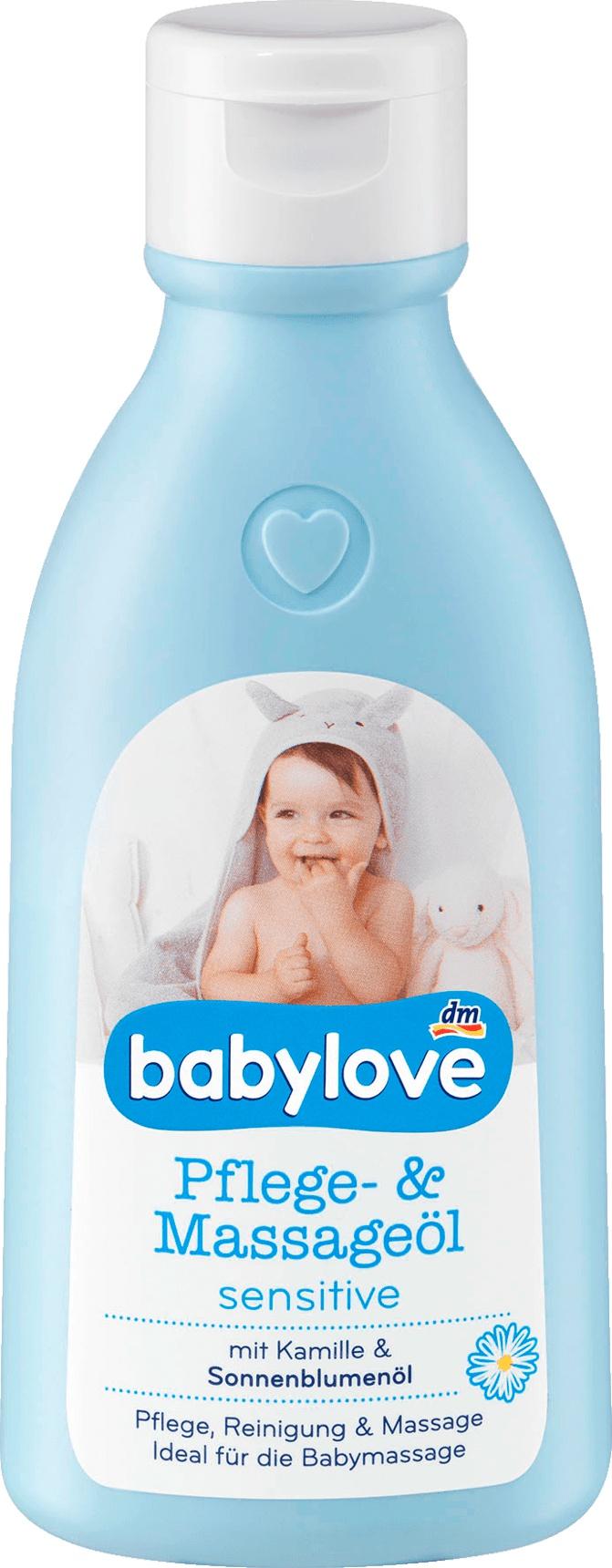 Babylove babylove Pflege- u. Massageöl sensitive