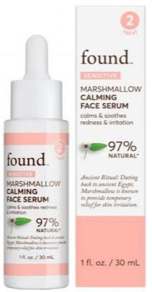 Found Marshmellow Calming Face Serum