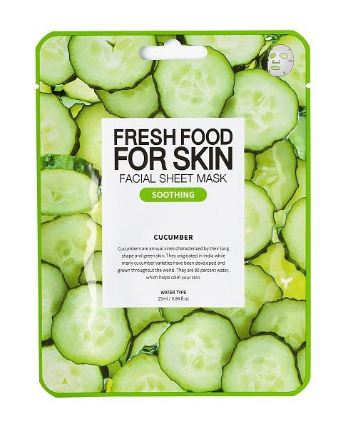 Farm Skin Fresh Food For Skin Facial Sheet Mask Cucumber:Soothing