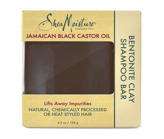 SheaMoisture Jamaican Black Castor Oil Bentonite Clay Shampoo Bar