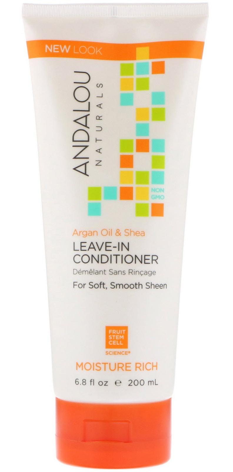 Andalou Naturals Moisture Rich Argan Oil & Shea Leave-In Conditioner