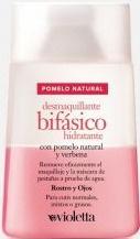 Violetta Desmaquillante Bifasico Pomelo Natural